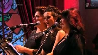 Андрей Давидян и другие участники - Гимн шоу Три аккорда (финал, первый канал, 07.08.2015)