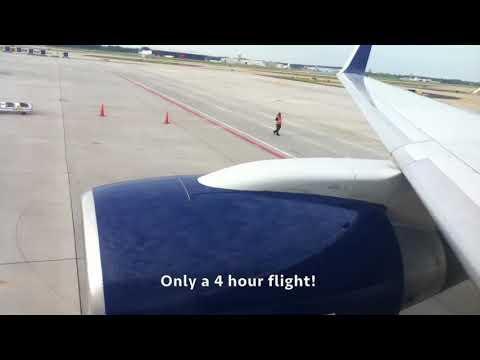 Delta 757-200 Economy FULL Flight Report Atlanta to San Diego