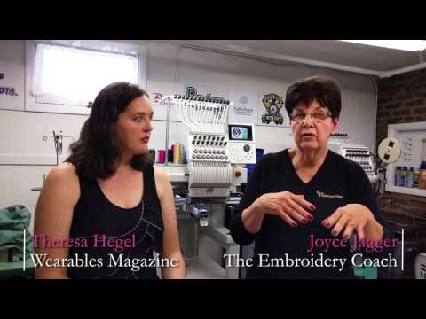 Embroidery Coach Outlines Training Opportunities