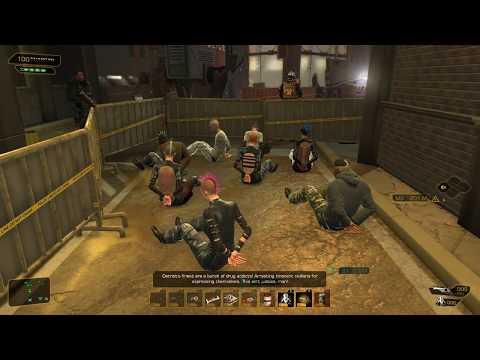 Deus Ex: Human Revolution S12: Riots in the streets