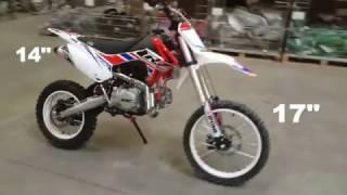 """Pit Bike CRZ 140BW 14""""/17"""""""