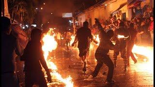 NEJAPA guerra de bolas de fuego El Salvador