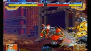 Cyberbots for Sega Saturn running in 3MBIT mode