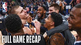 MAVERICKS vs NUGGETS   Wild & Awesome Finish In Denver   March 14, 2019