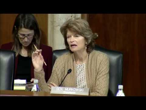 Murkowski's Opening Statement from Today's Energy Outlook Hearing
