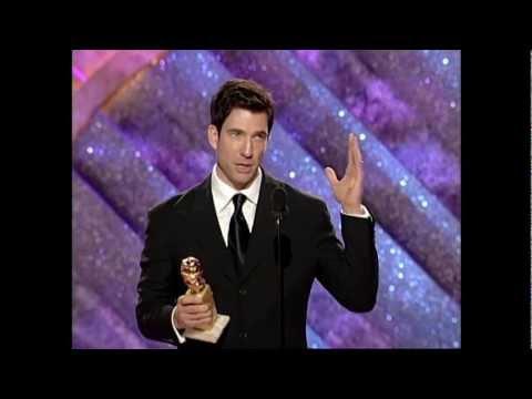 Dylan McDermott Wins Best Actor TV Series Drama - Golden Globes 1999