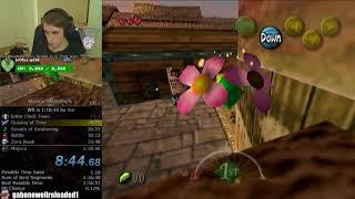 The Legend of Zelda: Majora's Mask Any% Speedrun (1:18:44)