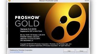 سيريال + كراك +تفعيل ProShow Gold 5