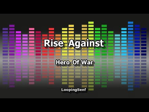 Rise Against - Hero Of War - Karaoke