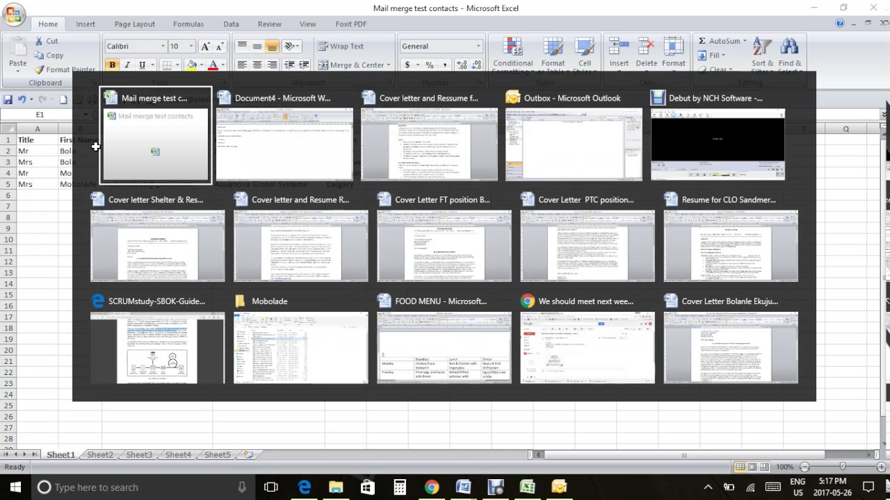 How to send a mail merge using word and outlook with attachment ...