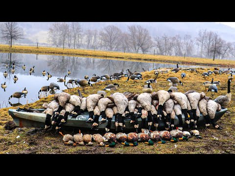 11 MAN LIMIT!!! EPIC Goose Hunting In New Jersey 2018