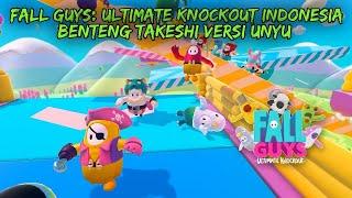 Fall Guys: Ultimate Knockout Indonesia - Benteng Takeshi Versi Unyu
