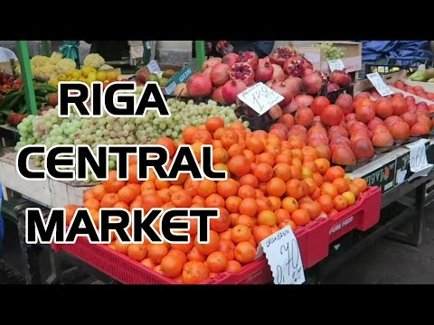 Riga Central Market - Visiting Latvia in December