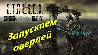 Запускаем оверлей в СТИМ в STALKER Тень Чернобыля