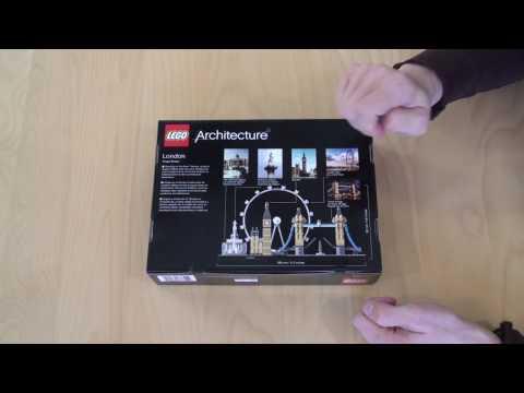 LEGO Architecture 21034 - London Skyline - Unbox, Build, Review