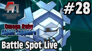 Pokemon Omega Ruby and Alpha Sapphire: Battle Spot Live #28: Cryogonal The Killer Snowflake