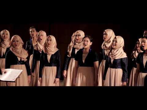 Unpad Choir - Kampuang Nan Jauh Di Mato (Ken Steven)   Choralboration Concert 25th Ken Steven
