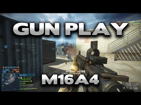 Battlefield 4 Gun Play : M16A4