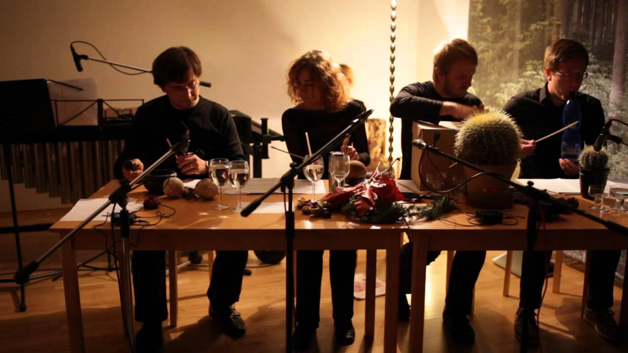 John Cage   Living Room Music Performed By Cluster Ensemble   Part 1 (To  Begin)