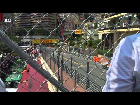 Agence LCP : Grand Prix F1 de Monaco - Vue du Top Roof