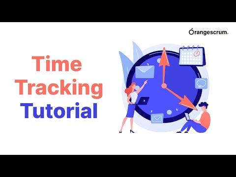 OrangeScrum | Timesheet | Time Tracking | Tutorial
