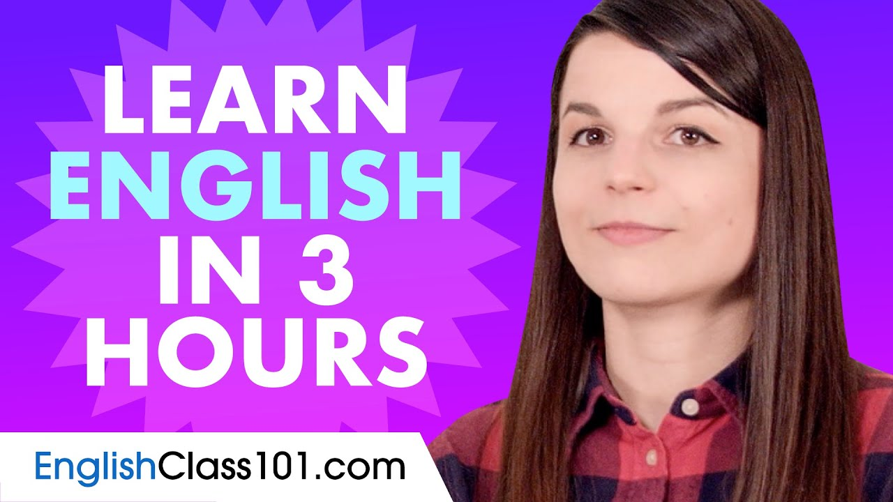 Learn English in 3 hours - ALL the English Basics You Need in 2020