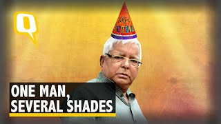 Love Him, Hate Him, But You Can't Ignore Many Shades of Lalu Yadav