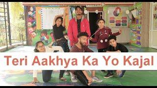 Teri Aakhya Ka Yo Kajal | Dance Choreography | A N D Dance and Event Co. | Ahmedabad