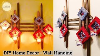 Wall hanging craft ideas | Unique wall hanging | diy wall decor |  Wall hanging ideas