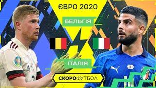 Бельгія Італія Передчасний фінал ЄВРО Скорофутбол