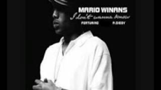 Mario Winans I Dont Wanna Know Instrumental W Hook