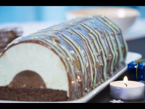 bûche-de-noël-chocolat-menthe