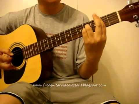 Guitar class aubrey finger picking and chords progression on.