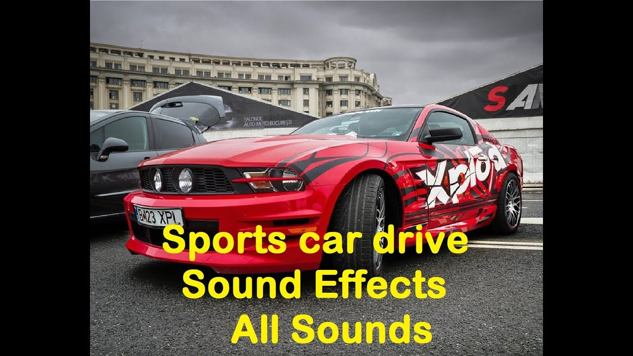sports car drive Sound Effects All Sounds