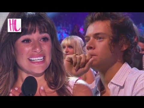 Harry Styles Cries During Lea Michele Cory Monteith Speech  Teen Choice Awards