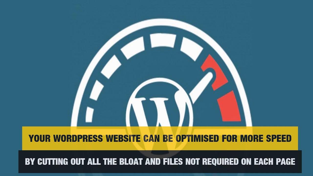 Speed up WordPress website Faster WordPress websites - YouTu