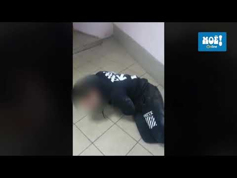 Пьяный липецкий участковый в отделе полиции в Воронеже