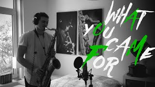 Rihanna feat. Calvin Harris - This Is What You Came For (Saxophone Cover)