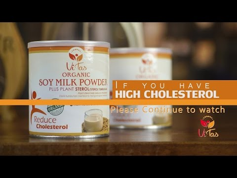 VITAS ORGANIC SOYMILK POWDER- REDUCE CHOLESTEROL