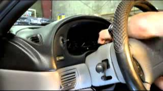 1994, 1995, 1996, 1997, 1998 Ford Mustang Instrument Cluster Removal Video