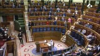Pleno del Congreso en el que debaten los PGE