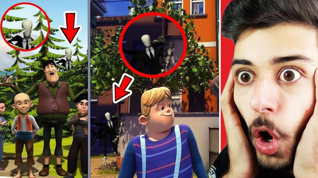 Download Çizgi Filmlere Gizlenmiş SLENDERMAN Görüntüleri! (ŞOK OLUCAKSINIZ!)