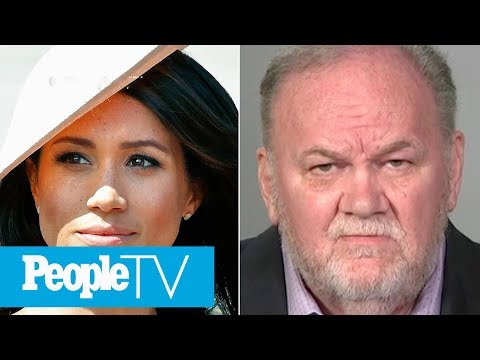 Meghan Markle's Dad Thomas Reacts To 'Overwhelming & Joyful' Pregnancy | PeopleTV