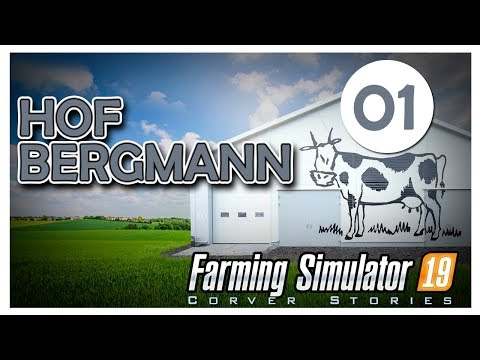 Hof Bergmann 01. Карта мал да удал! //Farming simulator 19