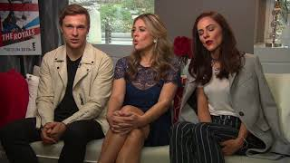 """Elizabeth Hurley, William Moseley and Alexandra Park on Season 4 of """"The Royals"""""""
