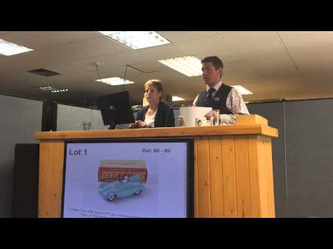 Dave Robinson Toy Collection selling at SAS auction - Dinky, Corgi, Matchbox and diecast