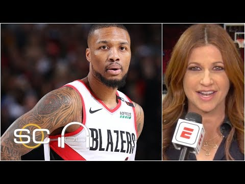 Lillard frustrated by Warriors' traps and double teams - Rachel Nichols | SC with SVP