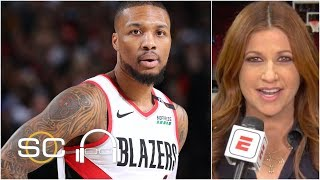 Damian Lillard frustrated by Warriors' traps and double teams - Rachel Nichols | SC with SVP