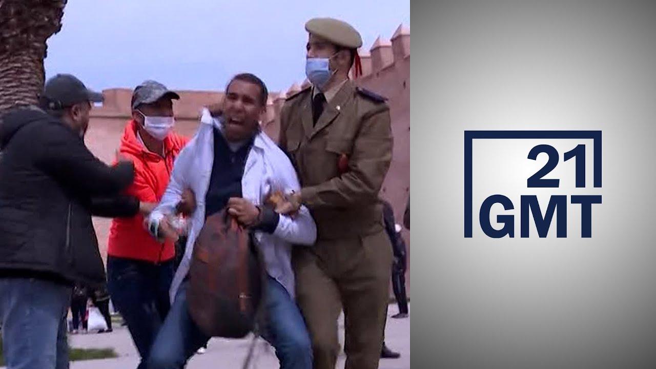 الأساتذة المحتجون في المغرب يواجهون صنوفا من التعنيف والتحرش