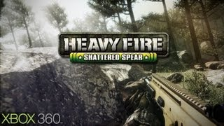 Heavy Fire Shattered Spear Gameplay (XBOX 360 HD)